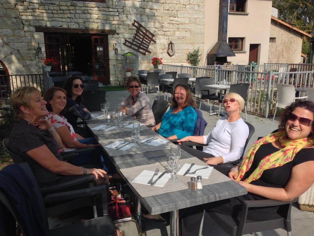 Lunch with Les Dames de FER coordinators
